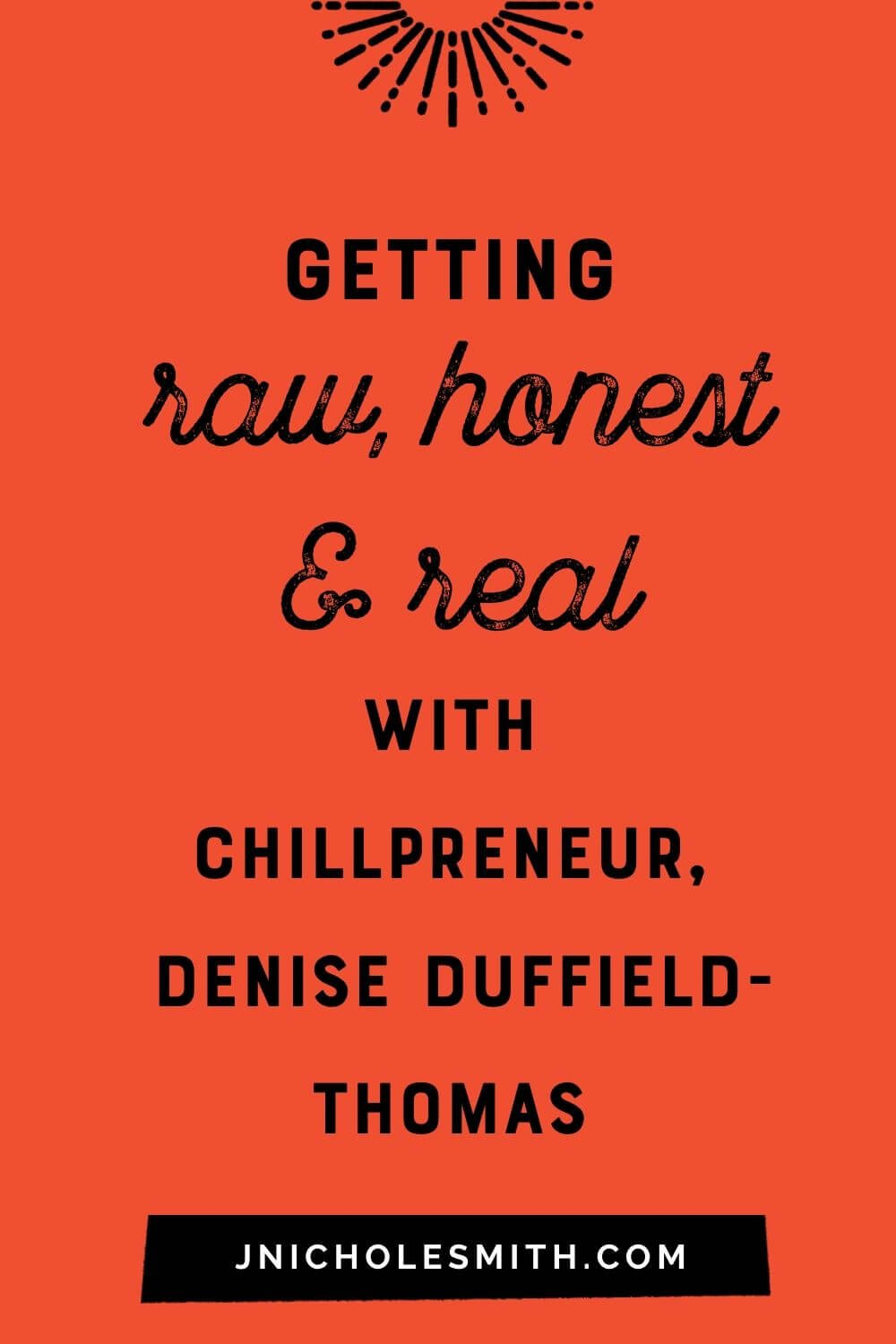 Denise Duffield-Thomas Interview pin image