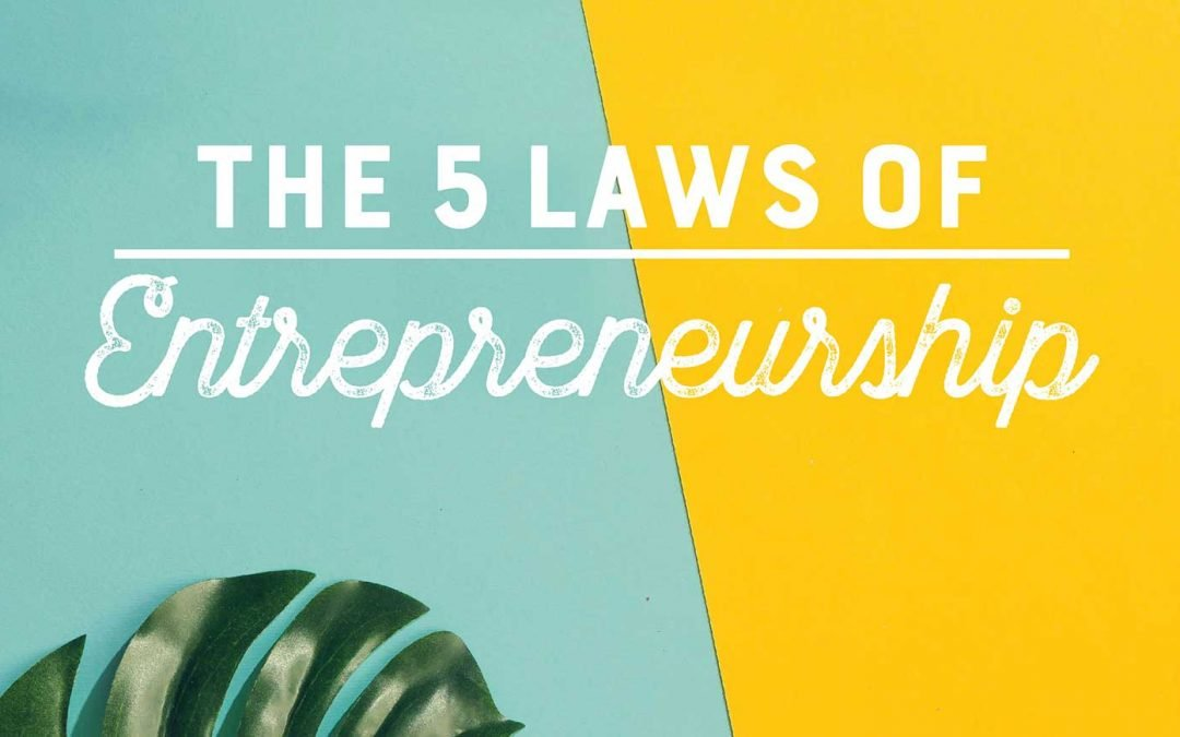 The 5 Laws of Entrepreneurship