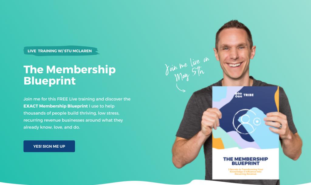 Build Membership Sites - the membership blueprint