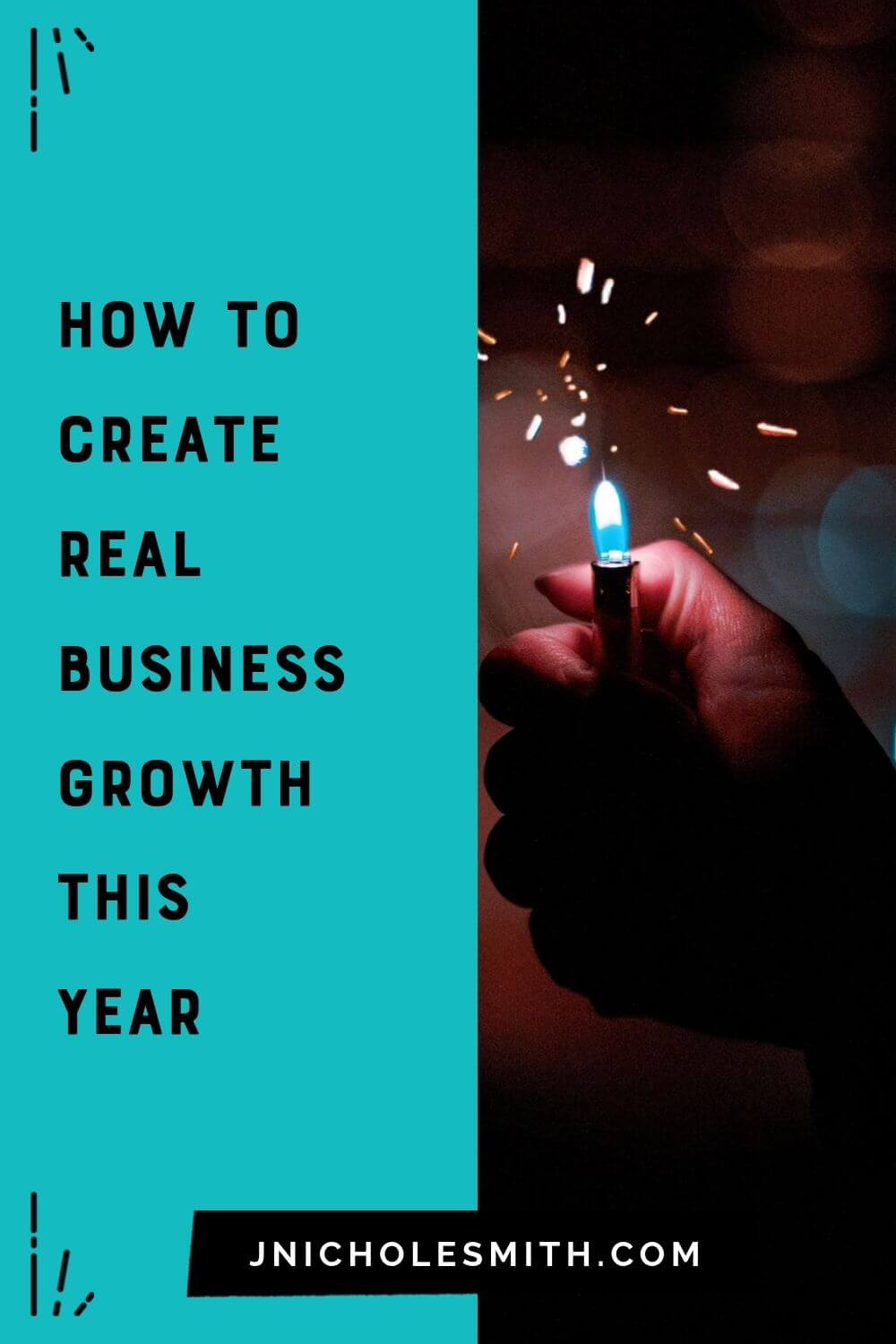 create REAL business growth pin image 2