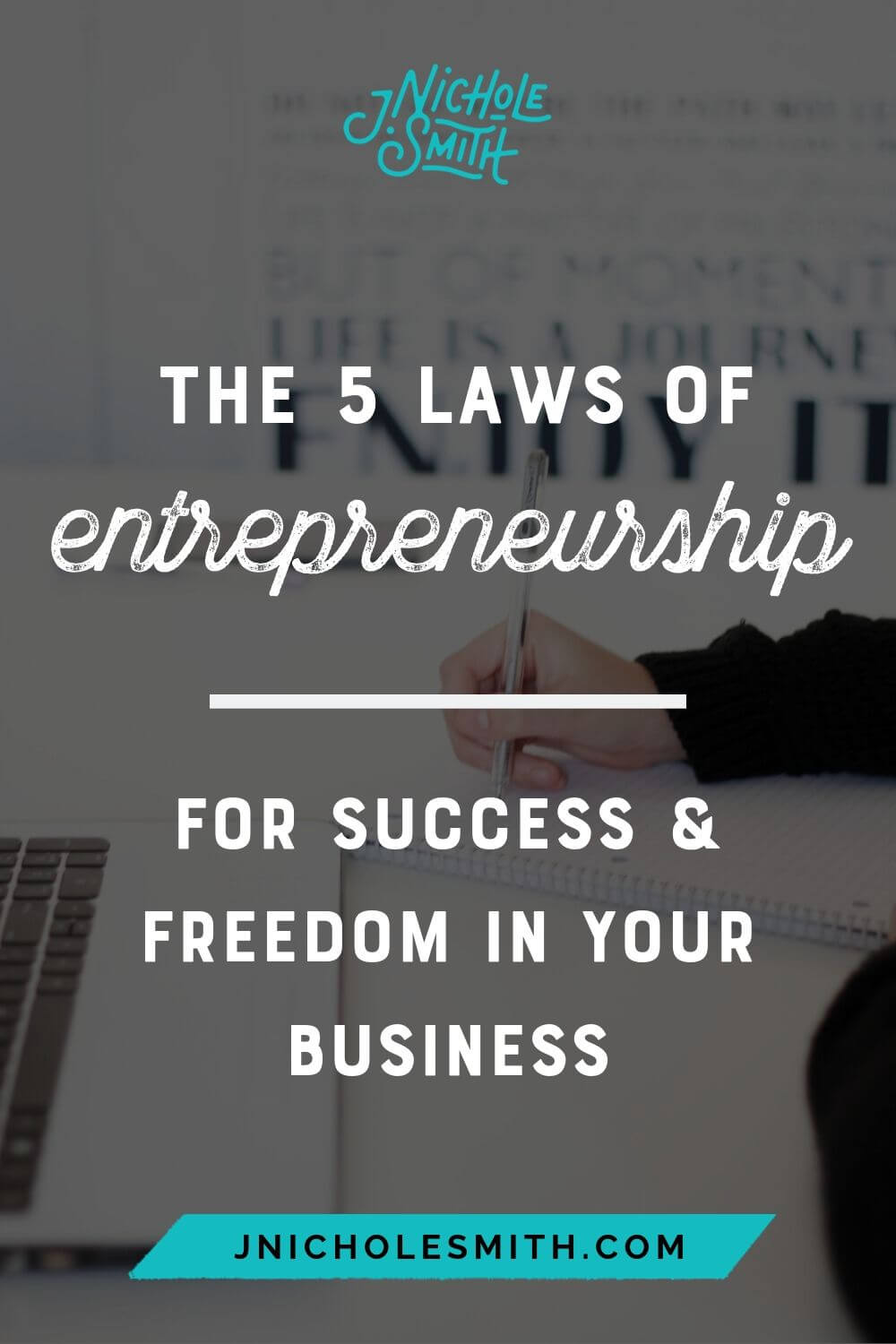 5 laws of business  pin image 2