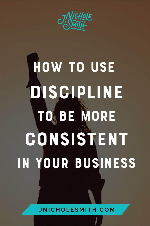 Discipline yourself pin image