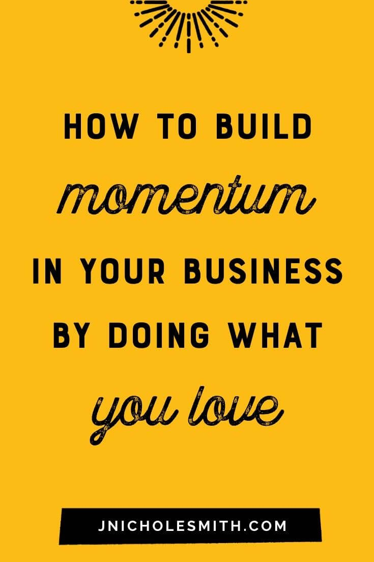 Love what you do Momentum pin image