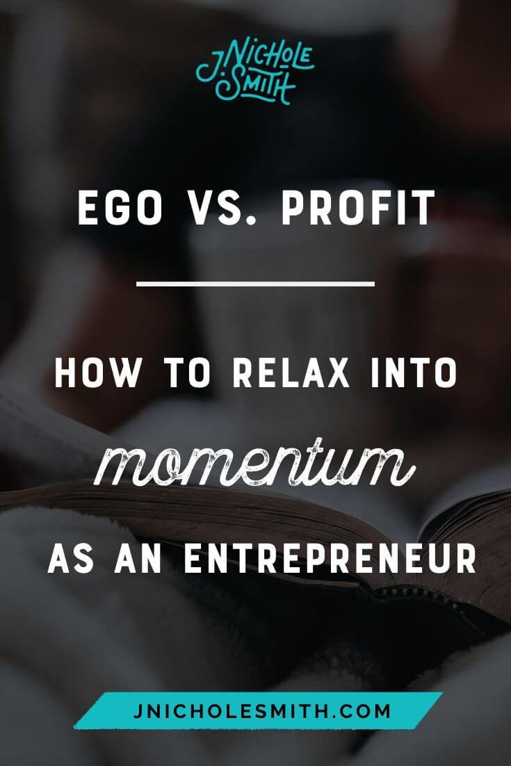 Ego v Profit Momentum pin image